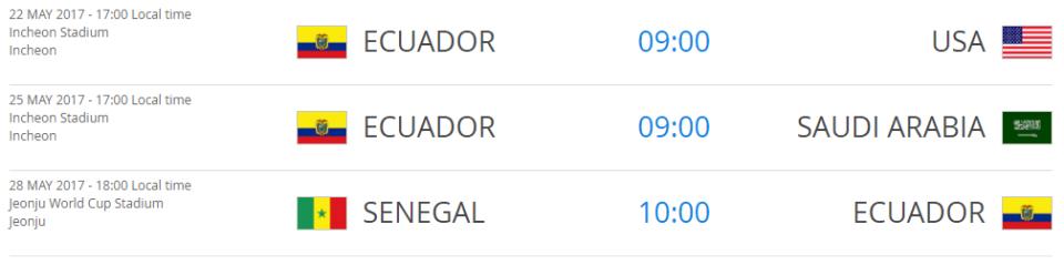 Ecuadorgroupfixtures