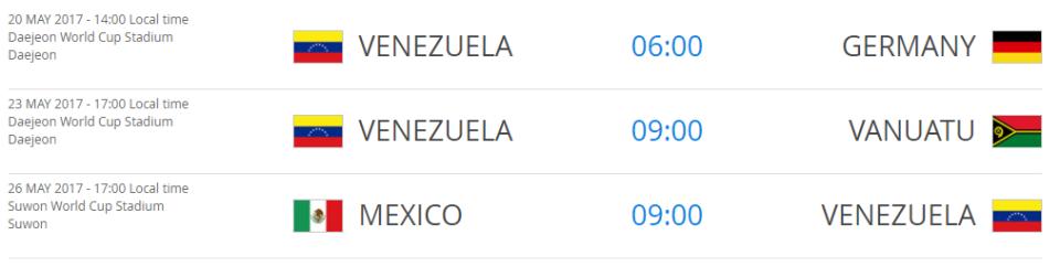 Venezuelagroupfixtures
